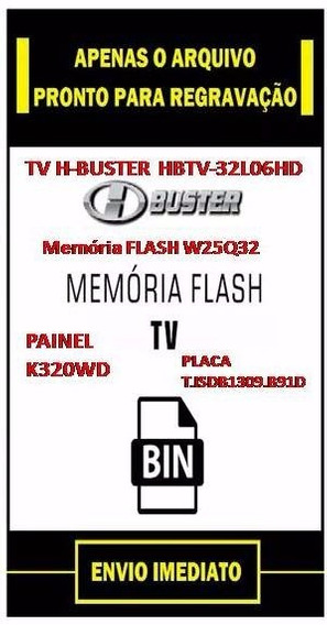 Dados Tvh-buster Hbtv-32l06hd Arquivo Flash Eeprom Flash