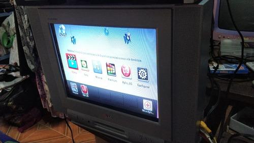 Tv LG 14 Polegadas Tela Plana Sem C. R. * Cdo