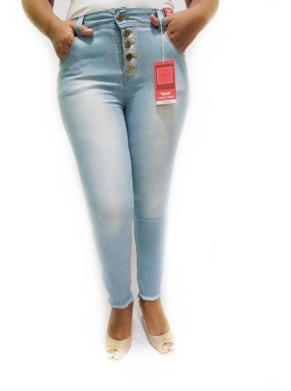 Calça Jeans Feminina Plus Size Tamanho Grande 46 Ao 54