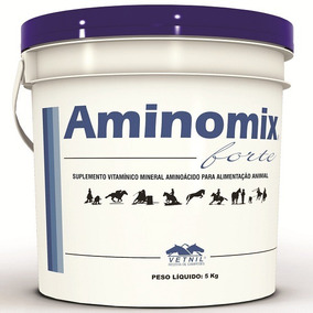 Aminomix Forte 5kg Vetnil - Validade Janeiro/2021