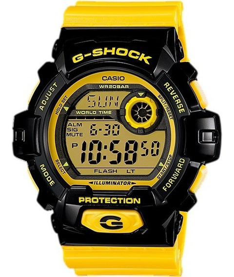 Relógio Casio G-shock G-8900 Sc-1y 5 Alarmes H.mundial W-200