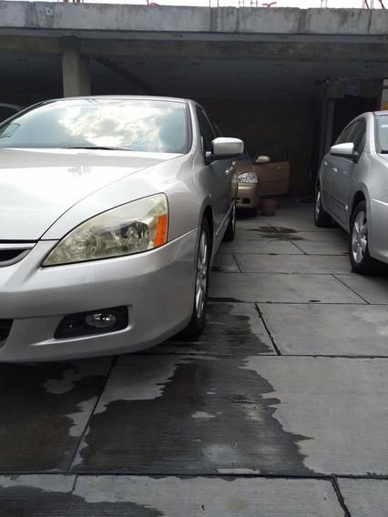 Honda Accord Ex Sedán 2007, Excelentes Condiciones