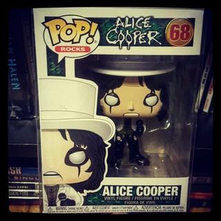 Funko Pop Rocks Alice Cooper Figure #68 En Stock!!!