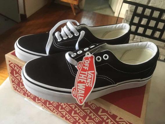Zapatillas Vans Era Black Originales Talle 39 Nuevas