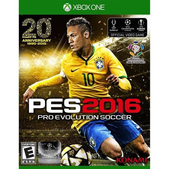 Game Xbox One Pes 2016 - Novo - Original - Lacrado