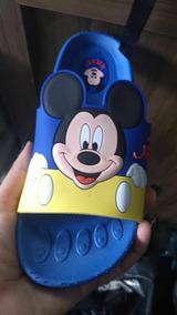 Chinelinho Infantil Do Mickey