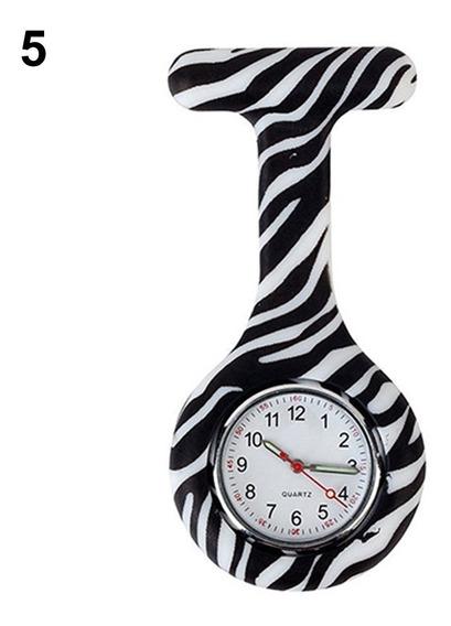Relógio De Bolso Medicina Enfermagem Colorido