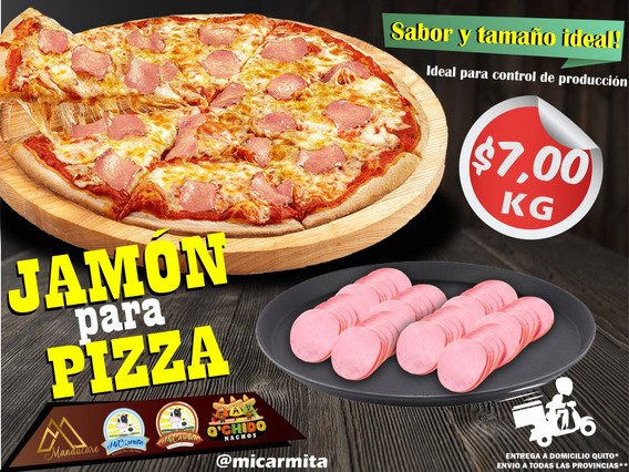 Jamón Rebanado Pizza Queso Domicilio Quito - Env Provincias