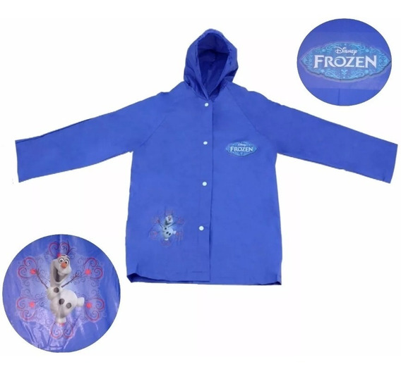 Capa De Chuva Infantil Frozen Disney Produto Original
