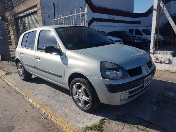 Renault Clio 1.5 Authent. 5 Pts,aa Y Direccion 2004 Permuto