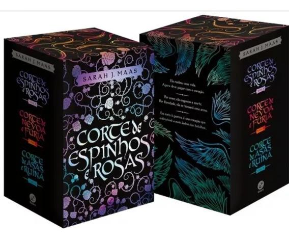 Box Corte De Espinhos E Rosas (3 Volumes) + Brinde