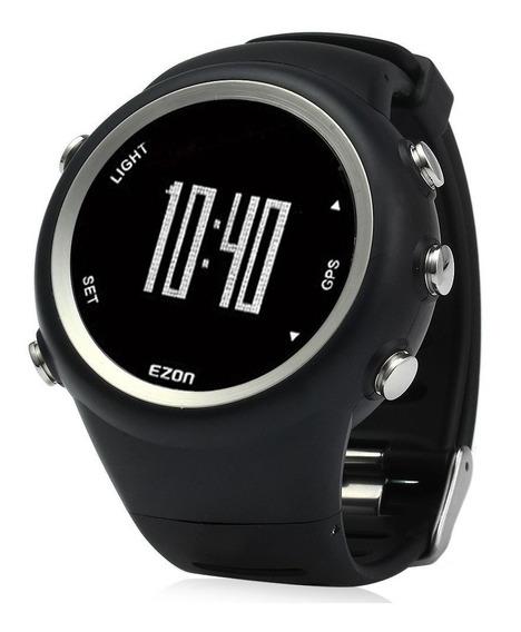 Relógio Com Gps T031 Ezon Ditância Ritmo Velocidade Calorias