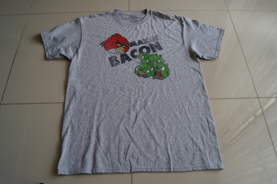 Camiseta Angry Birds Importada Rock Activity Talla L