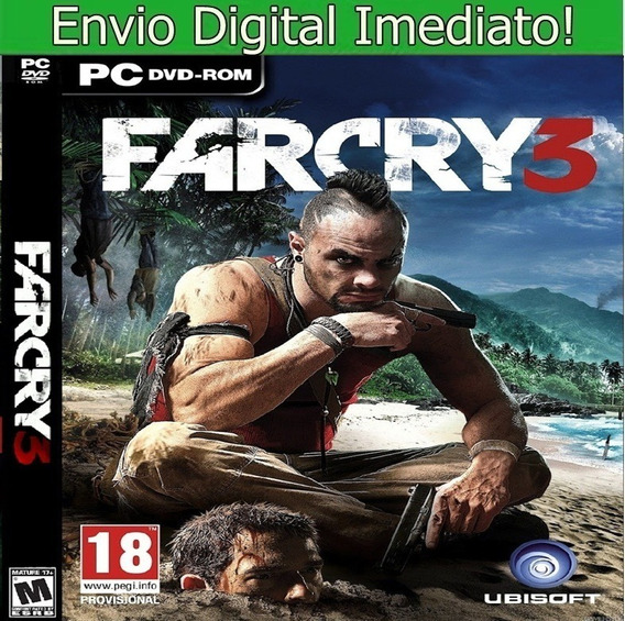 Far Cry 3 Pc Hd Envio Imediato.