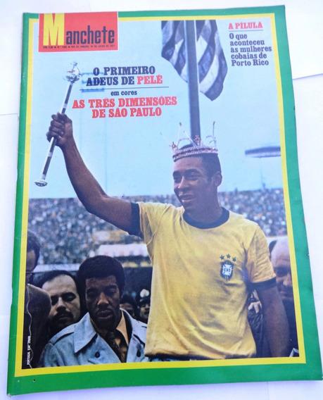 Manchete Nº 1.005: Pelé - Villas-boas - Barnum - Miss - 1971