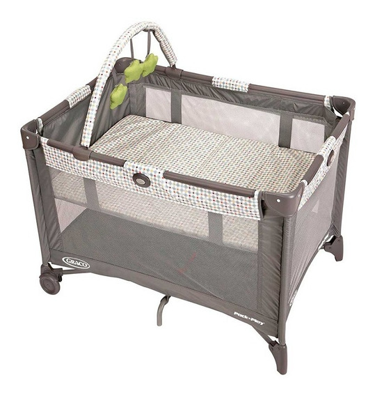 Cuna Bebe Practicuna Graco On The Go Pasadena Plegable