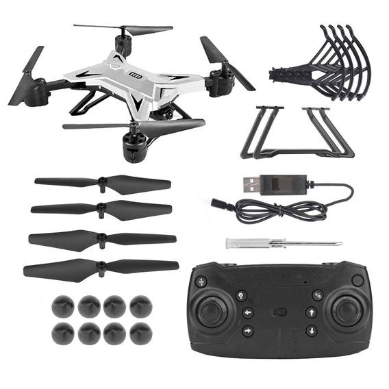 Drone Selfie Ky601s Câmera Hd 0.3 Mp Wifi Fpv Rc Dobrável