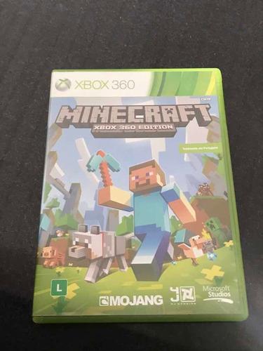 Minecraft Original Em Mídia Física Para Xbox 360