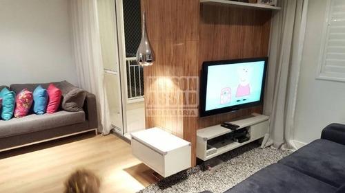 Imagem 1 de 18 de Apartamento Em Condomínio Padrão Para Venda No Bairro Vila Santa Clara, 2 Dorm, 0 Suíte, 1 Vagas, 65 M - 1631