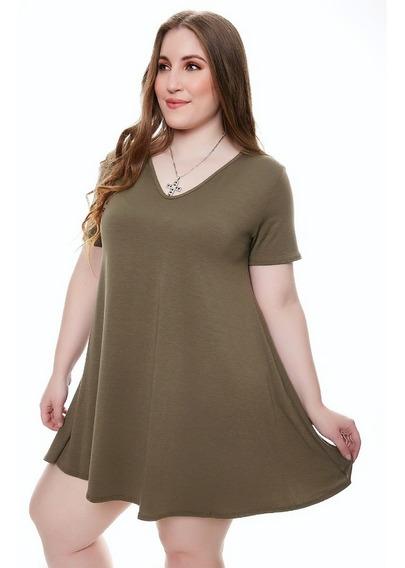 12 Vestido De Mujer Bobo Tipo Remeron De Modal Con Lycra