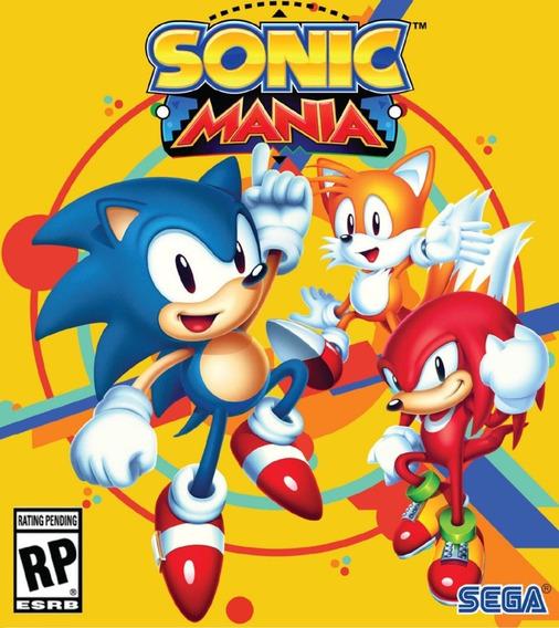 Sonic Mania - Pc - Steam Key Original Online