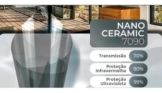 Película Termica Insulfilm Nanocerâmico 70% Sob Medida.