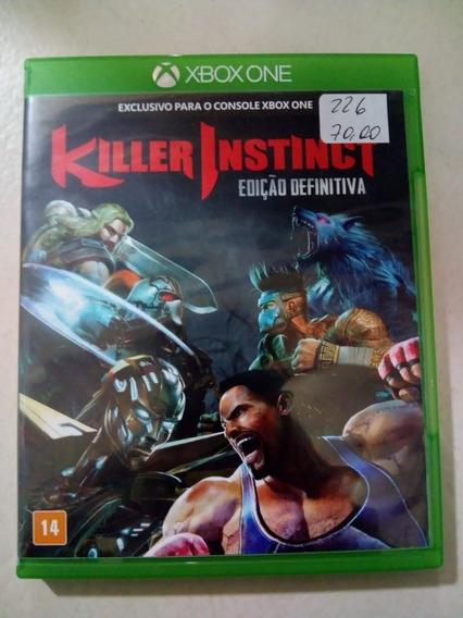 Killer Instinct Edição Definitiva Xbox One Mídia Física