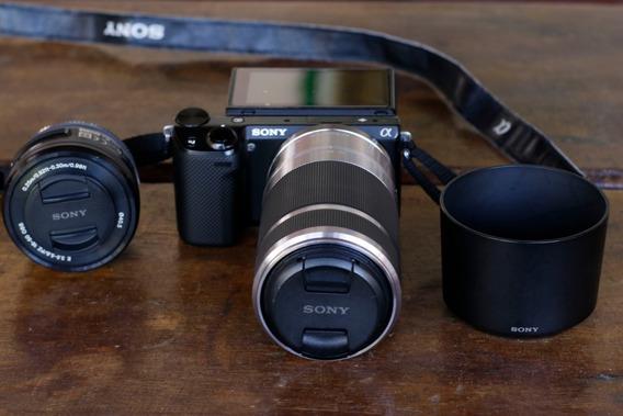 Camara Fotográfica Sony Modelo Nex5