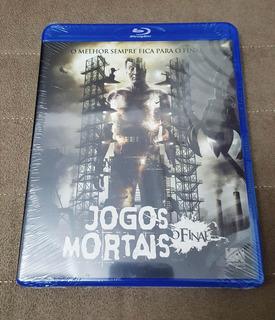 Blu-ray Jogos Mortais O Final (dublado/legendado) (lacrado)