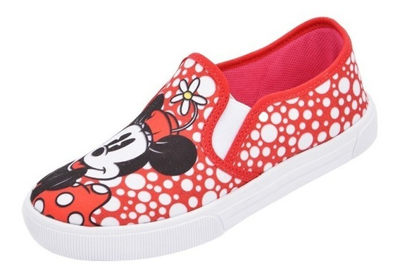 Tênis Infantil Iate Disney Minnie Menina Promoção Barato