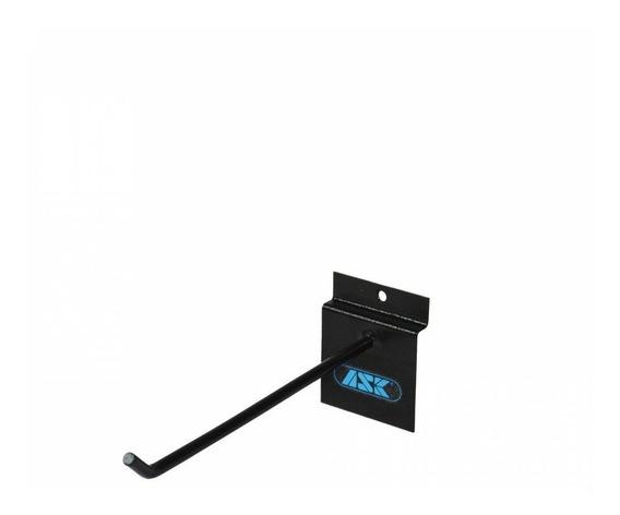 Kit 10 Suporte Expositor Grampo Slat Wall Ac25 25cm Ask