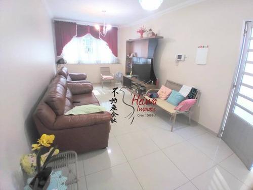 Sobrado Com 3 Dormitórios À Venda, 204 M² Por R$ 600.000,00 - Jardim Mangalot - São Paulo/sp - So0813
