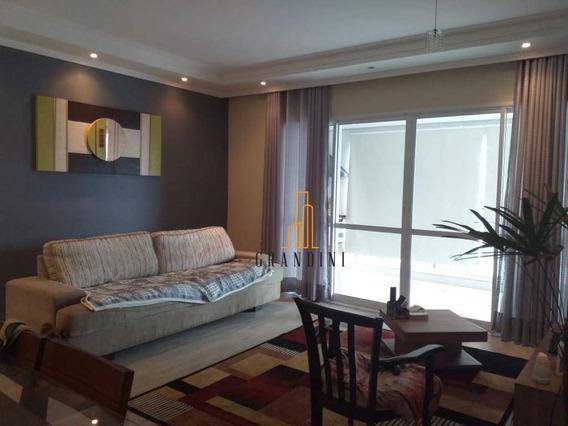 Apartamento Com 2 Dormitórios À Venda, 82 M² Por R$ 570.000,00 - Planalto - São Bernardo Do Campo/sp - Ap1502