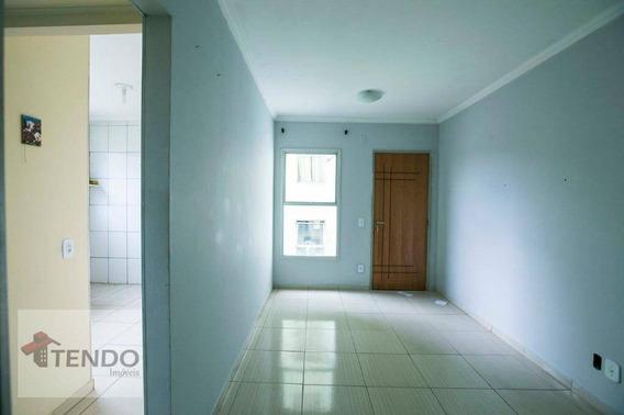 Apartamento De 2 Dorms, 52 M2, Vaga Coberta, Rua Dos Vianas. Estuda Permuta Por Imóvel Em Cotia Até Uns $ 170.000,00 - Ap0463