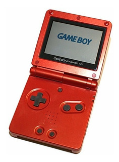 Espectaculares Game Boy Advance Sp-001 Roja+juego Original