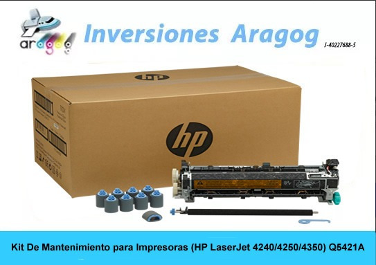 Kit De Mantenimiento Para Impresoras Hp Laserjet 4240/4250/