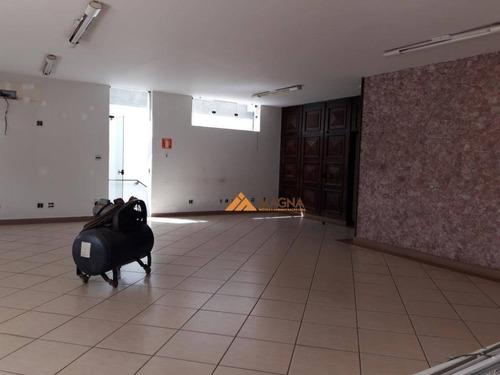 Casa Com 11 Dormitórios Para Alugar, 645 M² Por R$ 10.000,00/mês - Jardim Sumaré - Ribeirão Preto/sp - Ca2593
