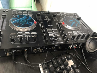 Controladora Denon Dj Mc4000 Como Nueva!!