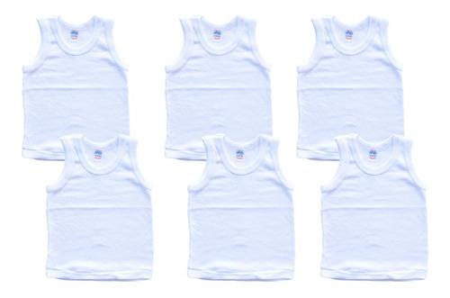 Imagen 1 de 3 de Camiseta Para Bebé Recién Nacido 100% Algodón De Niño
