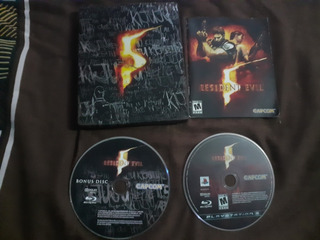 Resident Evil 5 Steelbook Ps3