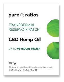 Parche De Cannabis Cbd De Hasta 4 Días De Duración