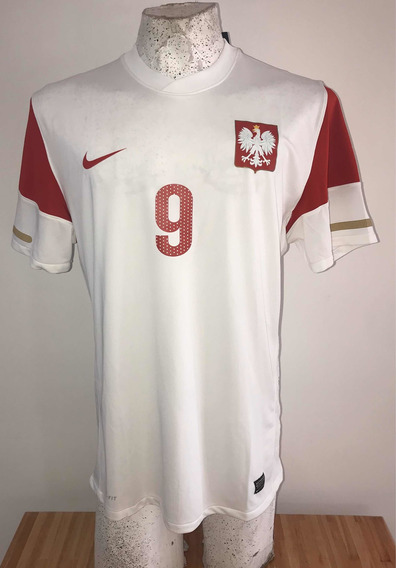 Selección De Polonia- Camiseta Alternativa-#9 Lewandosky-