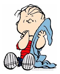 Linus Pelúcia Turma Do Snoopy