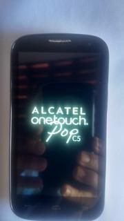 Celular Alcatel Pop 5 Com Defeito ( Touch Não Funciona)