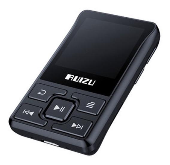 Mp3 Player Ruizu X55 8gb Mp4 Musica Vídeo Tela Fm