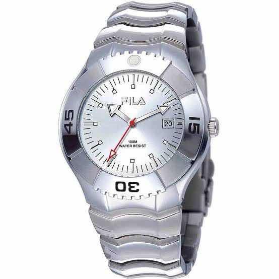 Relógio Fila Masculino Unisex Prata