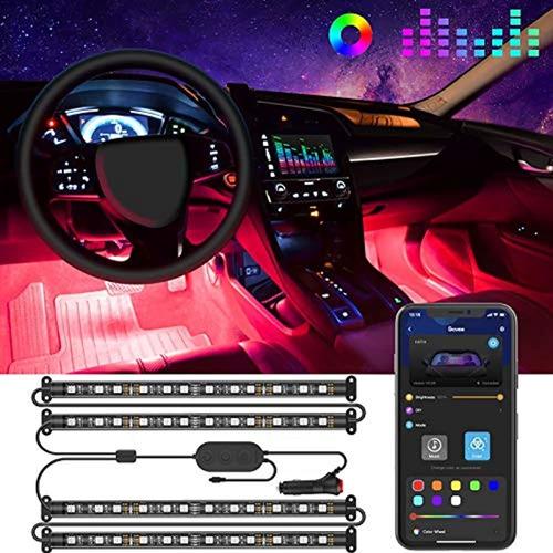 Govee - Luces Para Interior De Auto, Tira De Luz Led Para A
