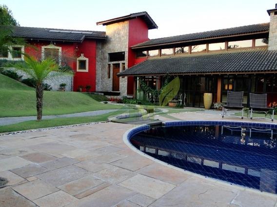 Espetacular Casa Em Atibaia Condomominío Fechado - 1034