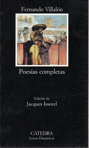 Poesias Completas * Villalon * ( 450 ) - Villalon Fernando