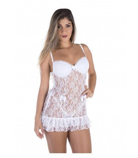Camisola Sensual Lasie Leila Ref.395 Sexy Tentação